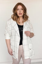 Veste Tencel ALEXIA Plaid SP21
