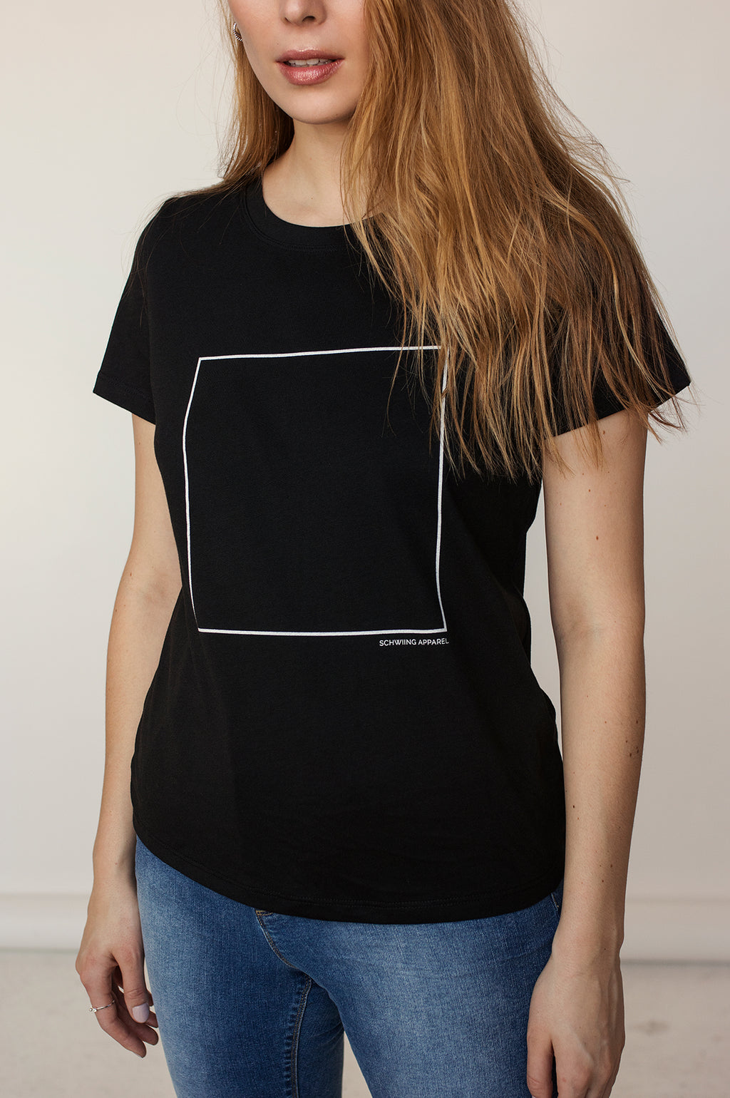 T-shirt AMALIE S21 Square Black