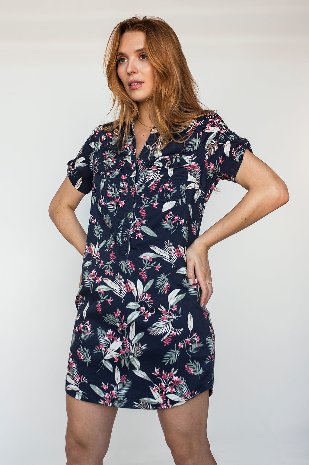 Robe courte ALIX Spring Night SP21