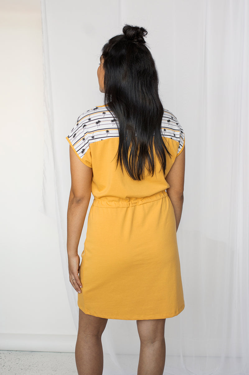 Robe contrastante MYLA Yellow SP21