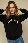 Sweater ultra doux ELEN Happy Soul Black