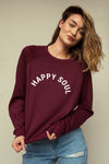 Chandail ultra doux ELEN Happy Soul Canyon Rose