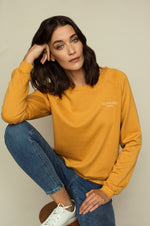 Sweater ultra doux ELEN Schwiing Apparel Honey Gold