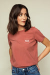 T-shirt Coton Bio AMALIE Schwiing Dusty Rose