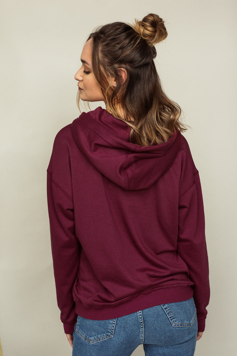 Hoody ultra doux KEZA Stylé Everyday Canyon Rose