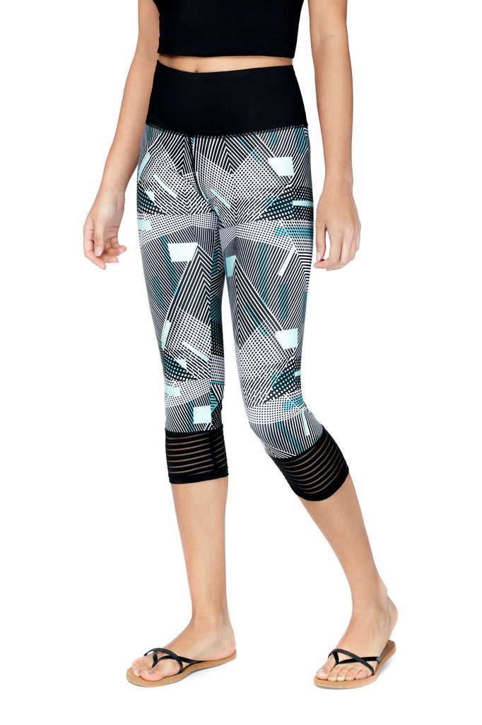 Legging ¾ performant et anti UV LOIKA Blockline