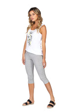Legging 3/4 MOLLY Grey Heather