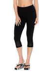 Legging ¾ performant et anti UV LOIKA Black