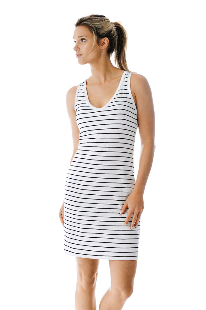Robe coton bio PENY Stripes S19