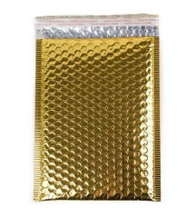 Metallic Gold Bubble Mailer