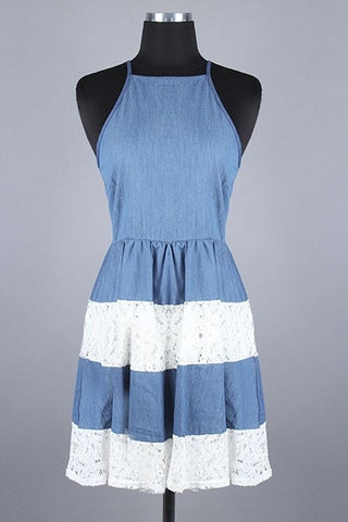 Denim Dove Dress