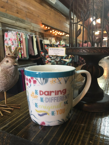 Be Daring Ceramic Mug