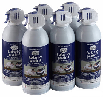 6 Pack Of Permanent Fabric Paint For Upholstery