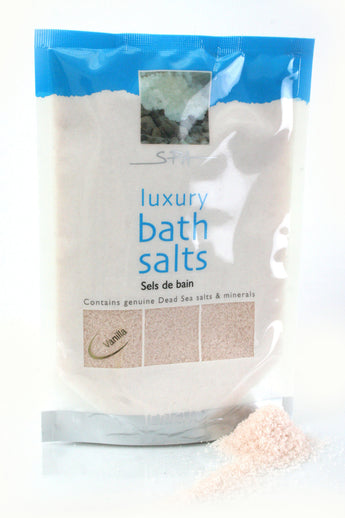 Dead Sea Bath Salt Vanilla