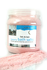 Dead Sea Bath Salt Rose