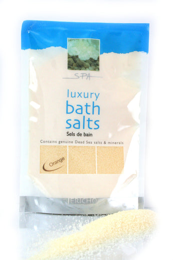 Dead Sea Bath Salt Orange