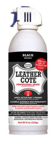 Leather Dye Cote + Primer Black