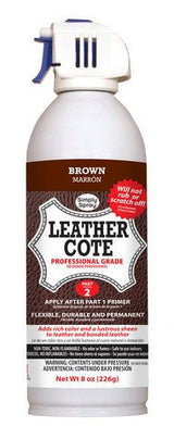 Leather Dye Cote + Primer Brown
