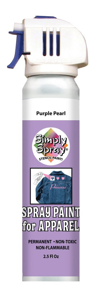 Stencil Paint Pearl Purple 73.9g (2.5 oz)