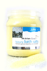 Dead Sea Bath Salt Lemon