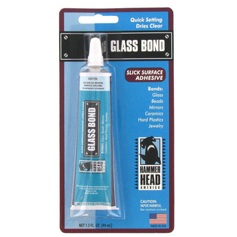Quick Setting Slick Surface Adhesive Glass Bond