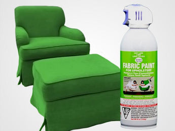 Hot Lime Permanent Fabric Paint For Upholstery
