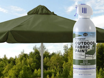 Olive Waterproof Outdoor Fabric Spray Paint