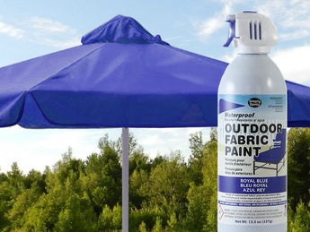 Royal Blue Waterproof Outdoor Fabric Spray Paint