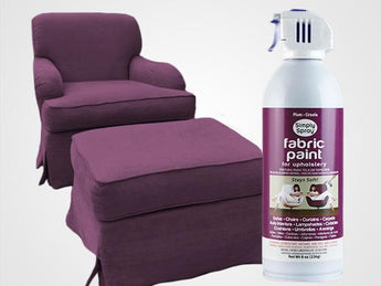 Plum Permanent Fabric Paint For Upholstery