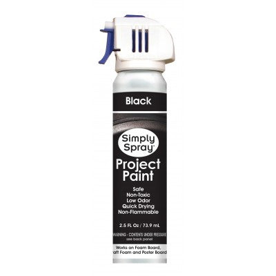 Project Paint Black 73.9 ml (2.5 fl. oz)