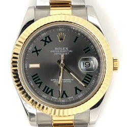New Model Rolex Datejust II 41mm 18kt Gold and Steel Oyster Band
