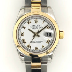 Rolex Datejust Lady 26mm Yellow and Steel Oyster Band 179163