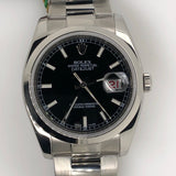 Rolex Datejust 36mm Roulette Calendar Steel