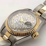 Rolex Vintage Datejust Lady 26mm Jubilee Dial Yellow Gold & Steel Oyster Band 69173