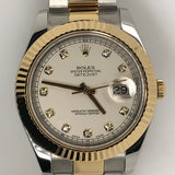 New Model Rolex Datejust II 41mm 18kt Yellow Gold & Steel Band