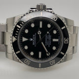 Rolex Black Submariner Ceramic Stainless Steel Oyster Band