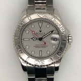 Rolex Yachtmaster Midsize Lady 35mm Platinum 168622