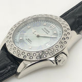 Tudor Prince Date Turquoise Diamond Dial 79420P Leather Band