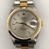 Rolex Date 35mm 18kt & Steel Oyster Band