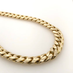 10kt Yellow Gold Miami 28 Inches 7mm 102.3 Grams