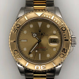 Rolex Yachtmaster 40mm Gold Dial 18kt Yellow Gold & Steel