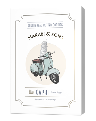 Capri - Lemon Poppy - Makabi & Sons