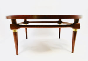 Mid Century Modern Round Lane Coffee Table