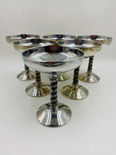 Raimond Italy Pewter Champagne Coupes Sorbet Stems - Set of 6