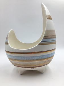 Sascha Brastoff Stripe Abstract Bowl