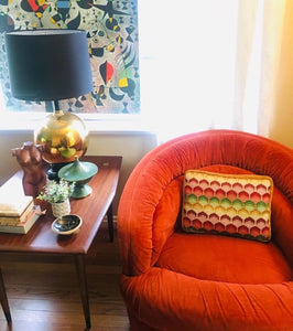 Pair of Mid Century Modern Swivel Chairs