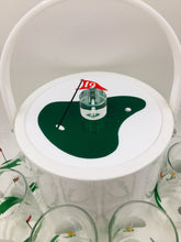Vintage 19th Hole Ice Bucket and Highballs Set by Morgan Designs Bucket Brigade
