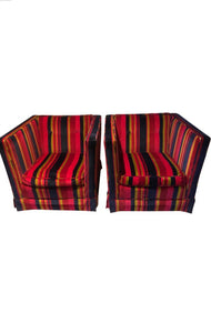 A Pair of 1970s Vintage Kisabeth Club Chairs