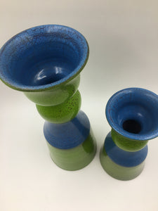 Pair of Mid Century Modern Italian Bellini Ceramic Vases for Rosenthal/Netter