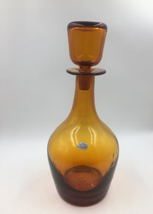 Mid Century Blenko Decanter #7126 designed by John Nickerson